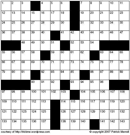 Nyt Crossword Themes